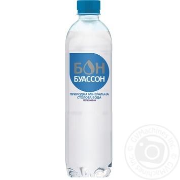 Вода Бон Буассон минеральная негазированная 0,5л - купить, цены на Novus - фото 1