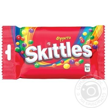Skittles Fruits Sweets - buy, prices for MegaMarket - image 1