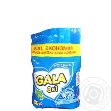 Стиральный порошок Gala Морская свежесть автомат 6кг