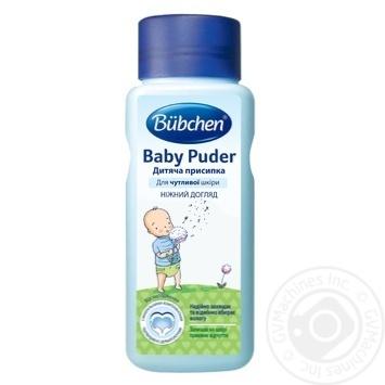 Присыпка детская Bubchen Нежный уход для чувствительной кожи 100г - купить, цены на Метро - фото 1