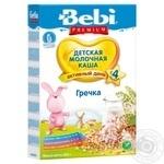 Каша Bebi Premium гречневая молочная 250г