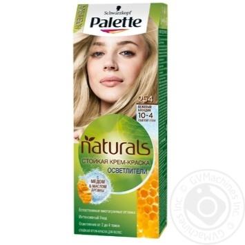 Краска для волос Palette Naturals 10-4 (254) Бежевый блондин 110мл