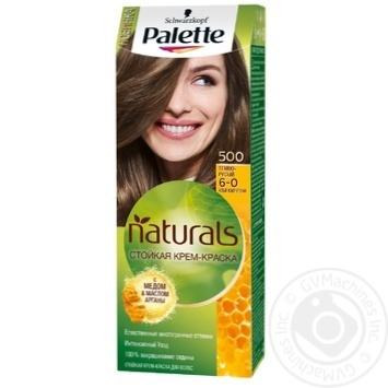 Краска для волос Palette Naturals 6-0 (500) Темно-русый 110мл - купить, цены на Novus - фото 1