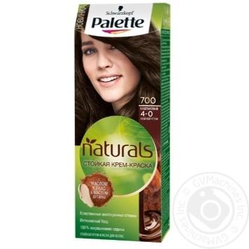 Скидка на Краска для волос Palette Naturals 4-0 (700) Каштановый 110мл
