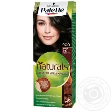 Краска для волос Palette Naturals 1-0 (900) Черный 110мл - купить, цены на Novus - фото 1