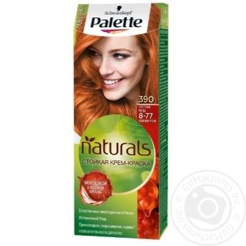 Краска для волос Palette Naturals 8-77 (390) Светлая медь 110мл