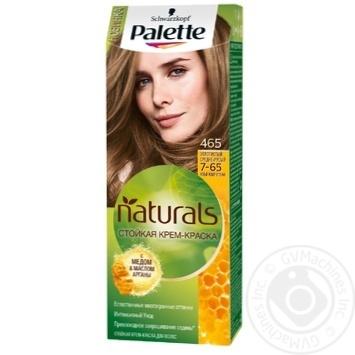 Краска для волос Palette Naturals 7-65 (465) Золотистый средне-русый 110мл