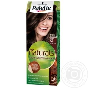 Краска для волос Palette Naturals 3-1 (850) Темный Шатен 110мл - купить, цены на Novus - фото 1