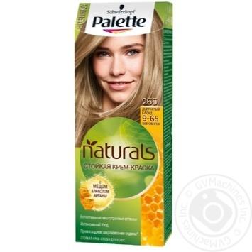 Краска для волос Palette Naturals 9-65 (265) Дымчатый Блонд 110мл