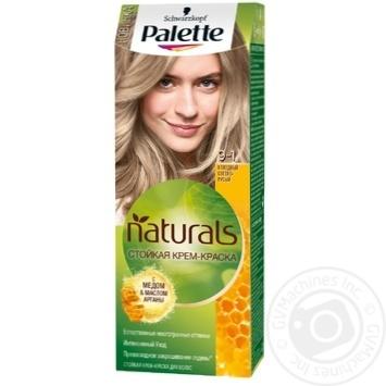 Крем-фарба для волосся Palette Naturals 9-1 Холодний Світло-русявий 110мл - купити, ціни на МегаМаркет - фото 1