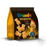 Friendy mini-mishutka with milk glaze sugar cookies 100g