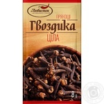 Spices clove Lyubystok whole 8g