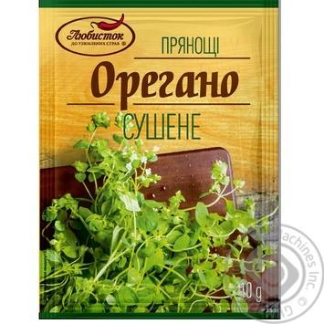 Spices oregano Lyubystok 10g