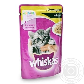 Корм Whiskas для котят с курицей в соусе 100г - купить, цены на Фуршет - фото 5