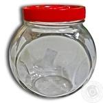 Банка EverGlass Sweet стеклянная с крышкой 1,73л шт
