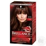 Фарба для волосся Brillance 874 Оксамитовий каштан 142,5мл