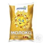 Молоко Молокія Сонечко пастеризованное 3.4% 900г