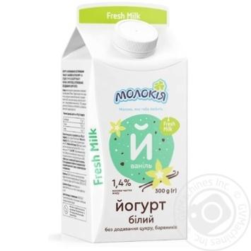 Molokiya with vanilla yogurt 1.4% 300g