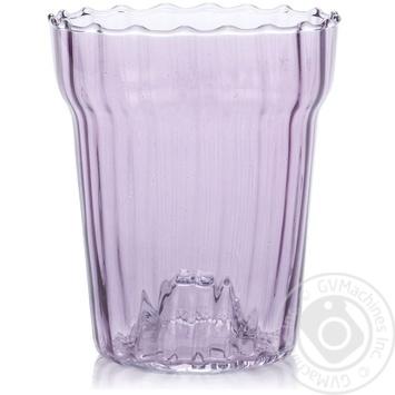 Орхидейница 16*18*2,0 фиолетовая стекло