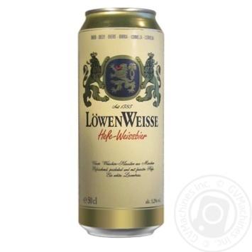 Скидка на Пиво Lowenbrau Weiz светлое 0,5л ж/б