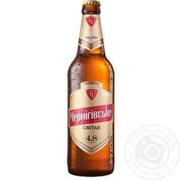 Пиво Черниговское светлое 0,5л стекло