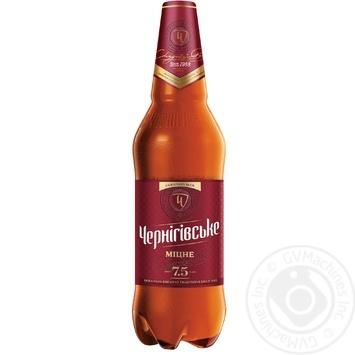 Пиво Чернігівське Міцне світле 7,5% 1л