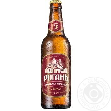 Rogan Monastyrske Light beer 5,6% 0,5l