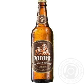 Rogan Veselyy Monach Beer 6,9% 0,5l - buy, prices for CityMarket - photo 1