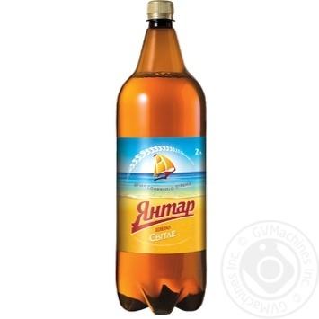 Пиво Янтарь светлое 2л