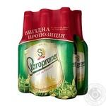 Пиво Staropramen светлое 6*0,5л стекло