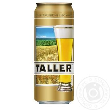 Пиво Taller светлое 0,5л ж/б