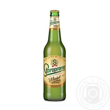 Пиво Staropramen Wheat светлое пшеничное нефильтрованное 4,7% 0,5л