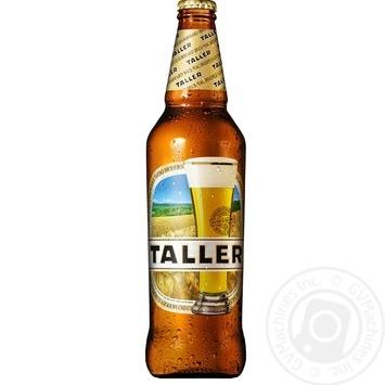 Пиво світле Taller 5,3% 0,33л скл/пл