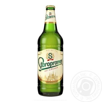 Пиво Staropramen светлое 0,75л стекло