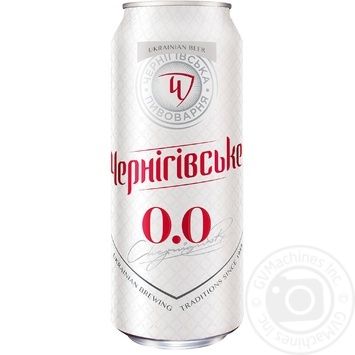 Chernihivske Non-alcoholic beer 0,5l can - buy, prices for Auchan - photo 1