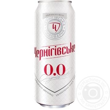 Пиво Чернігівське світле безалкогольне 0,5л ж/б