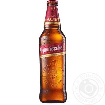 Пиво Черниговское Lager светлое 0,5л стекло