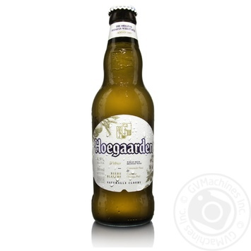 Hoegaarden Wit-Blanche Blonde Beer 0,33l glass - buy, prices for Novus - image 1