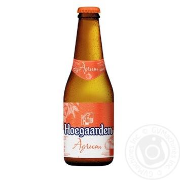 Пиво Hoegaarden Radler Agrum Грейпфрут светлое 0,25л стекло