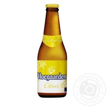 Пиво Hoegaarden Radler Citrus 0,25л стекло