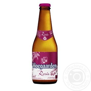 Пиво Hoegaarden Rosee світле нефільтроване 0,25л скло