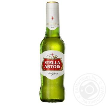 Пиво Stella Artois светлое 0,33л стекло