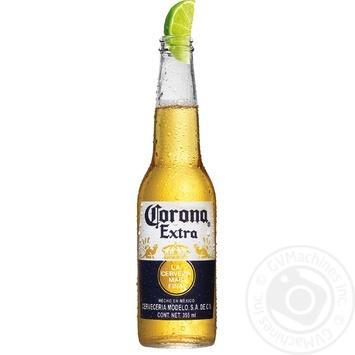 Пиво Corona Extra світле 0,355л
