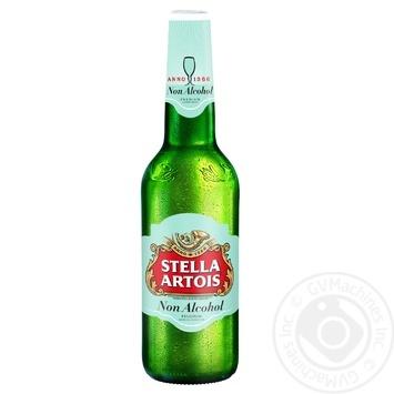 Пиво Stella Artois светлое безалкогольное 0,5л стекло