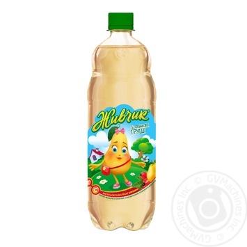 Напиток безалкогольный Живчик со вкусом груши сокосодержащий сильногазированный 1л - купить, цены на Novus - фото 1