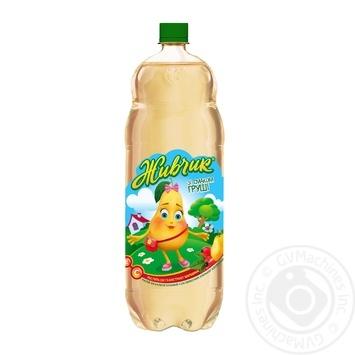 Напиток безалкогольный Живчик со вкусом груши сокосодержащий сильногазированный 2л - купить, цены на Novus - фото 1