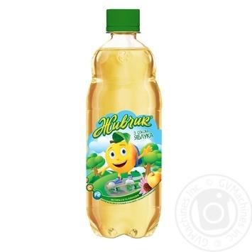 Напиток газированный Оболонь Живчик с соком яблока 0,5л - купить, цены на Novus - фото 2