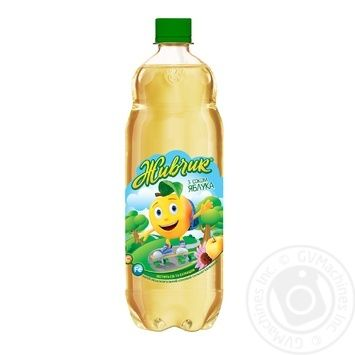 Напиток безалкогольный Живчик с соком яблока соковый сильногазированный 1л - купить, цены на Novus - фото 2