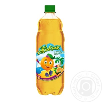 Zhivchik with orange taste non-alcoholic juice-containing sparkling drink 1l - buy, prices for Tavria V - photo 1