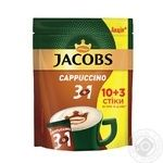 Beverage Jacobs Cappuccino with coffee 162g stick sachet